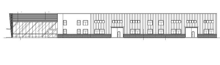 [宁夏]两层门钢结构4S汽车店建筑施工图(含全专业建筑图纸)