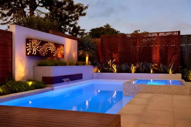 赶紧收藏!21个最美现代风格庭院设计案例_74