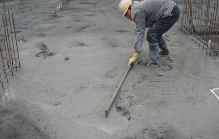 混凝土地坪一次性成型技术