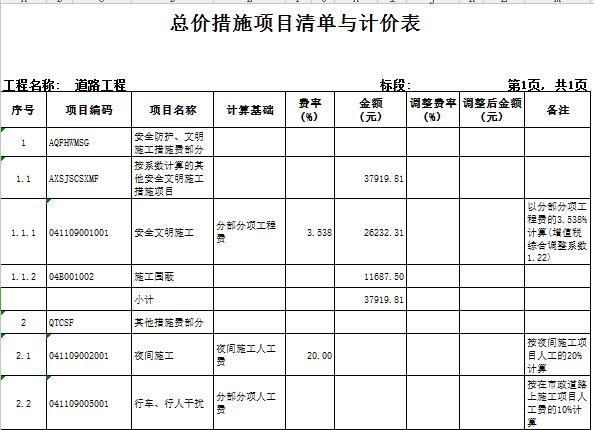 【广东】2018新建道路及配套工程预算书(全套图纸)_7