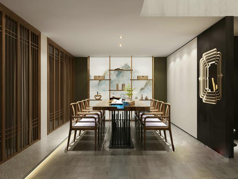 更新 62套酒店餐饮空间装修设计施工图(附效果图、实景图)_5
