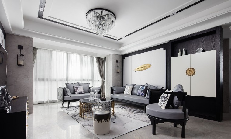 新中式风格的住宅