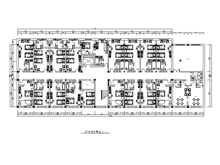 某大型现代风格酒店设计CAD施工图