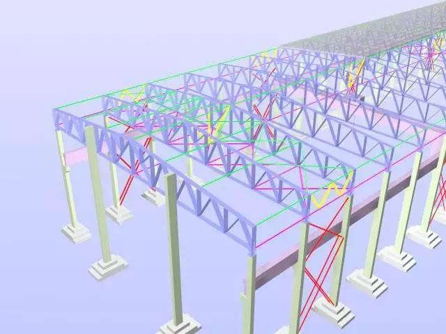 新型钢结构厂房(理论与实践相结合典范)