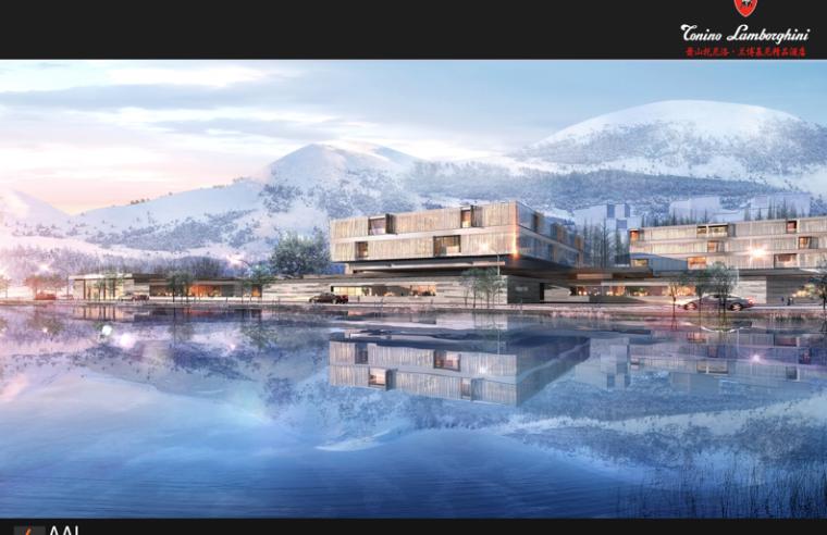 [浙江]杭州萧山兰博基尼精品酒店建筑设计方案文本