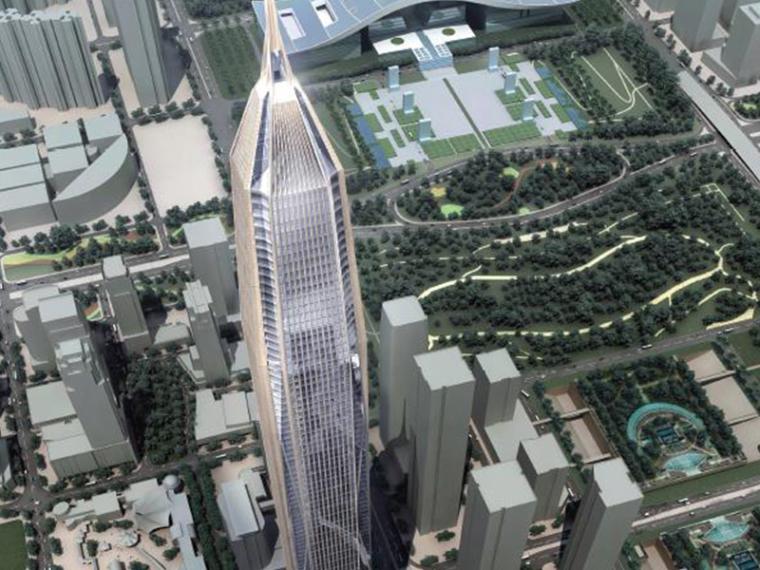 [深圳]KPF平安国际金融中心建筑设计方案