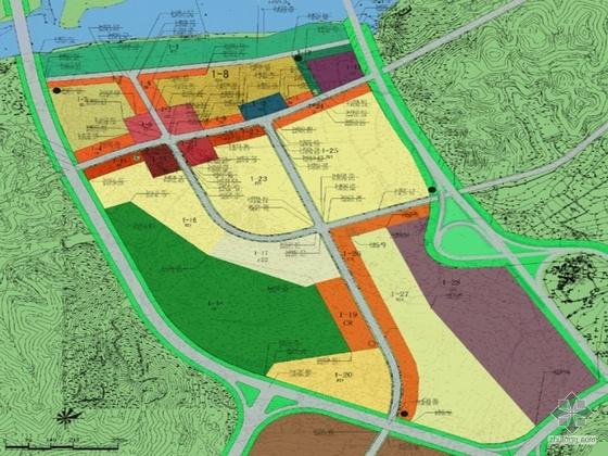 [浙江丽水]水阁某工业园控制性规划文本及CAD方案