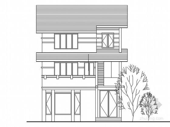 某三层豪华舒适型农村小别墅设计方案