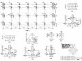50MW自备热电站机力冷却塔结构施工图