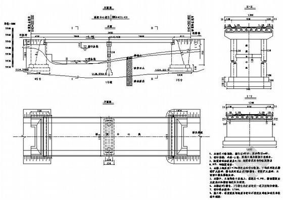 攀枝花市米易县白马镇物流通道建设一期工程某大桥全套设计图纸
