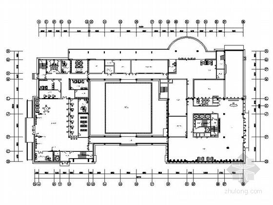 [浙江]简约大气办公楼室内设计CAD施工图