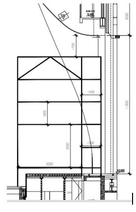 甘肃文化艺术中心场馆观众厅GRG氟碳喷涂满堂架搭设方案(四层钢框架支撑+钢砼框剪结构)_5