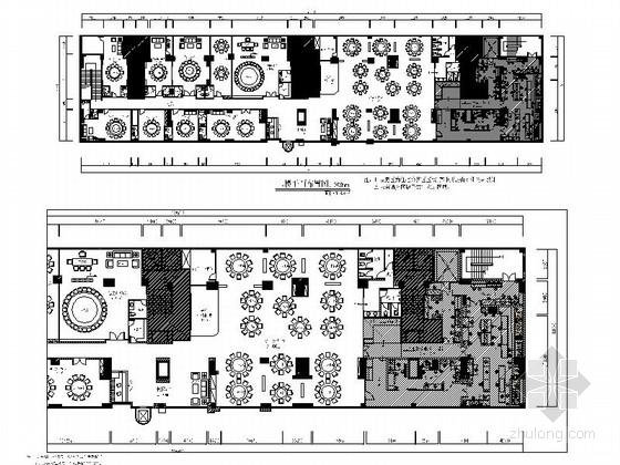 [东莞]简欧二层连锁餐厅室内装修图(含效果)