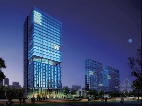 [江苏]绿色生态叠层式办公及商业建筑概念性设计方案文本