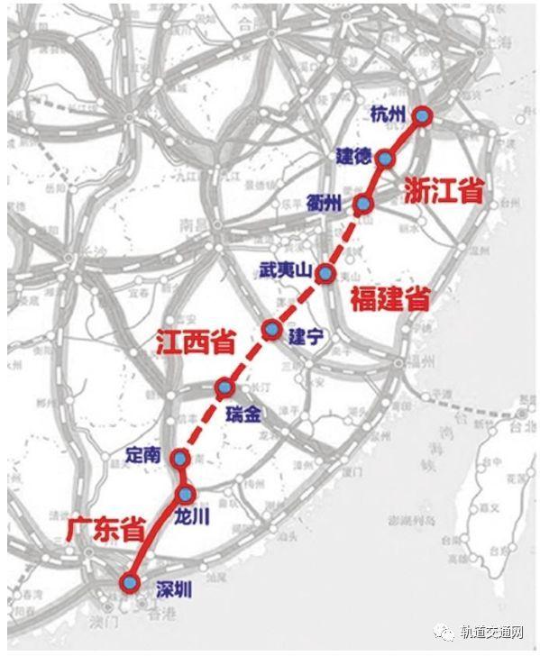 深珠高铁、深杭高铁、广深磁悬浮…这些粤港澳大湾区轨道建设或加