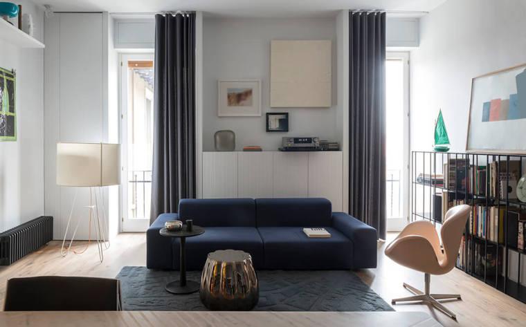米兰公寓:艺术美感精致_1