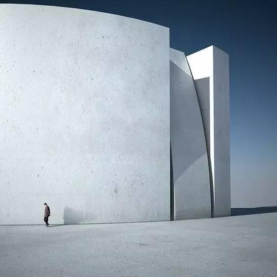 人与建筑,一首无言的诗。_8