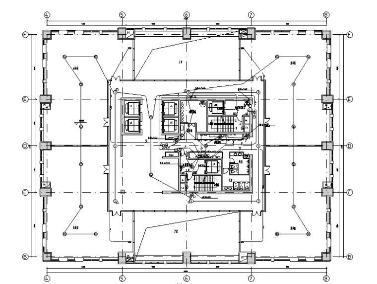 上海黄浦区104地块机电全套施工图