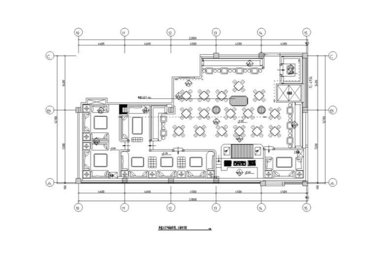三明杜尚大厅室内装修设计CAD施工图(含32张图纸)