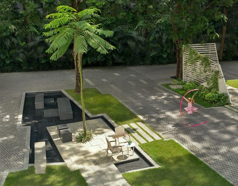 印度GODREJ住宅景观-2