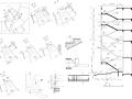 120套楼梯详细CAD施工图CAD施工图集CAD节点详图CAD施工图纸