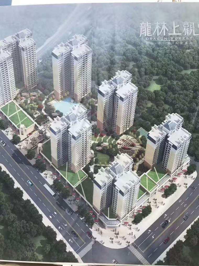 惠阳行政中心区 龙林上观有什么户型?小区环境怎么样?