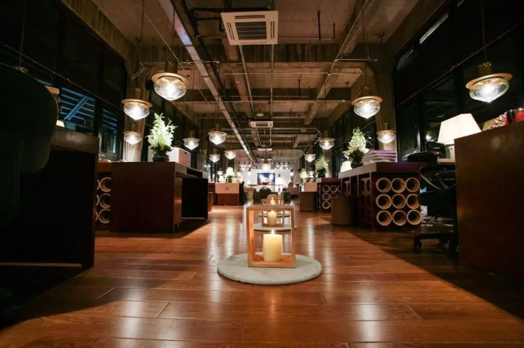 上海现代感的老场坊博览馆室内实景图 (3)