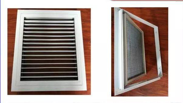 七种空调风口的分类与用途_2