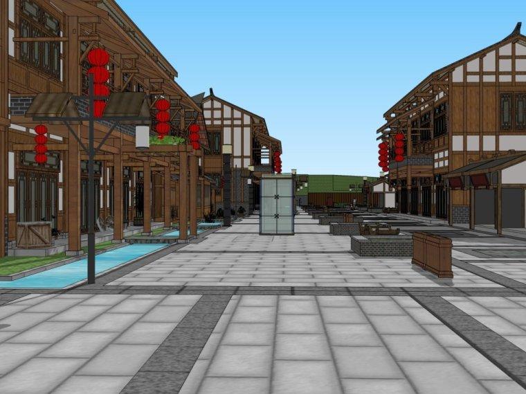 传统商业街+中式风格建筑商业街设计.skp-20150731_175917_289