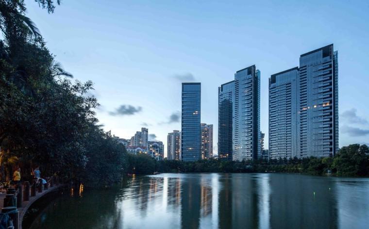 深圳华侨城新天鹅堡住宅景观