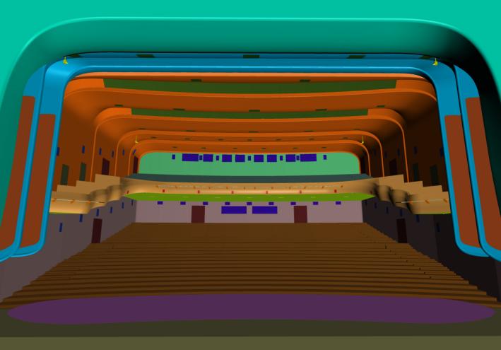 甘肃文化艺术中心场馆GRG工程施工方案(四层钢框架支撑+钢砼框剪结构)