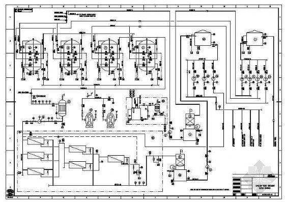 尼日利亚某电厂锅炉用水系统流程图