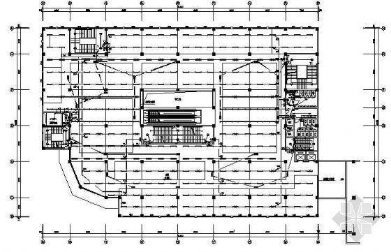 某综合商厦强电施工图