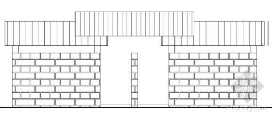 公共厕所建筑详图