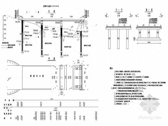 [江西]预应力混凝土空心板桥施工图设计26张