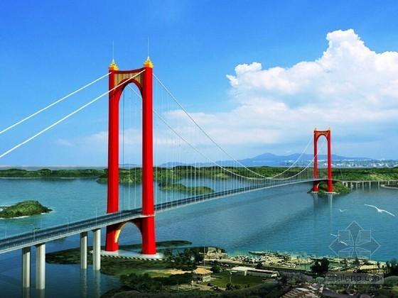 [广西]海湾大桥设计方案比选汇报讲义(110页 图文并茂)