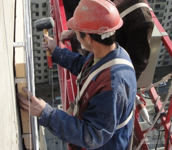 [QC成果]提高GYGD外墙保温防火装饰一体板施工质量