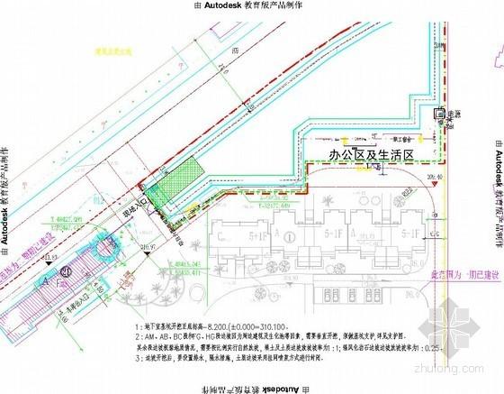 [重庆]地下车库深基坑坡率法开挖支护施工方案