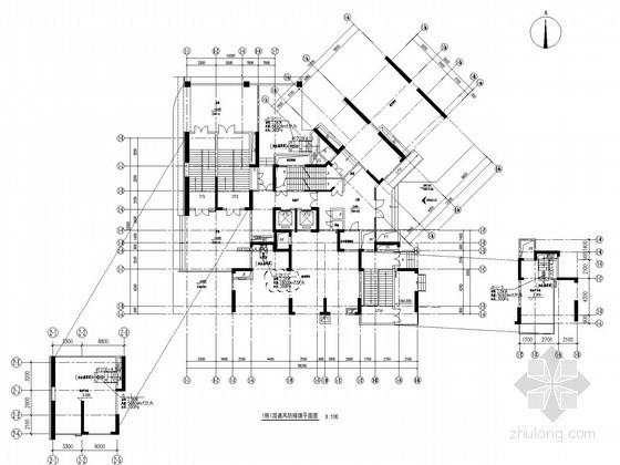 [贵州]高层商住建筑暖通空调设计施工图(106张 含人防设计)