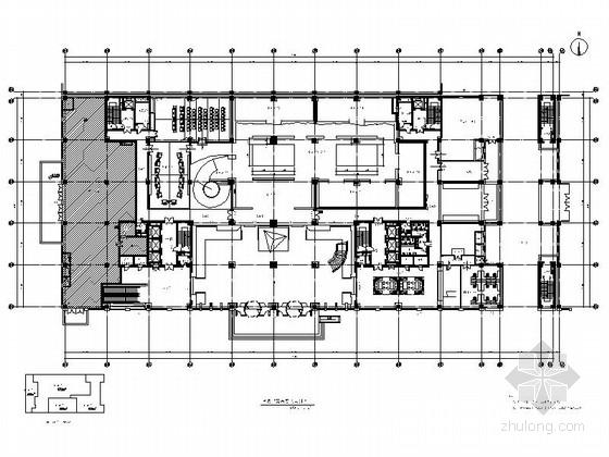 [北京]世界最大水利枢纽工程集团公司现代办公楼室内装修施工图(含效果)