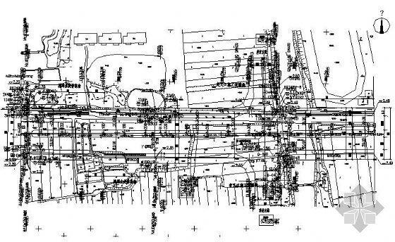 杭州某路段燃气工程设计图