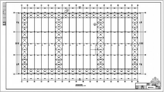 某船体结构车间工程设计图
