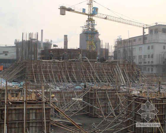 山东特钢厂1080m3高炉工程项目管理总结
