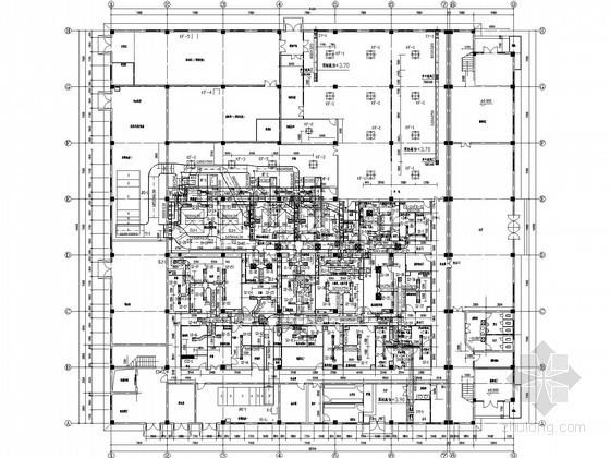[江西]医药生产车间暖通及空压冷冻系统设计施工图
