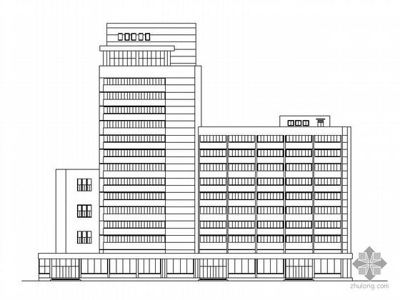 [青岛]某十三层宾馆建筑施工图
