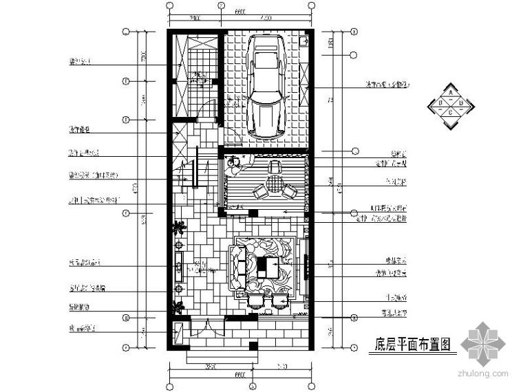 [苏州]某联体别墅设计图(含效果)