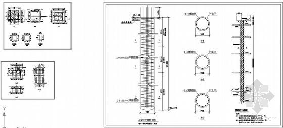某0.400m标高塔吊基础结构设计图