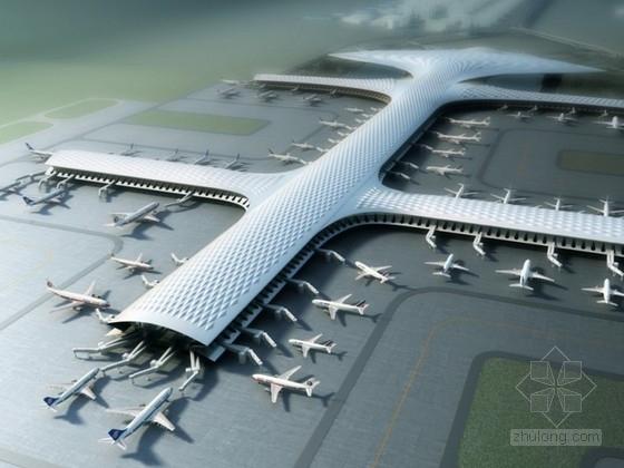 [重庆]某国际机场建筑设计方案文本(含动画,ppt)