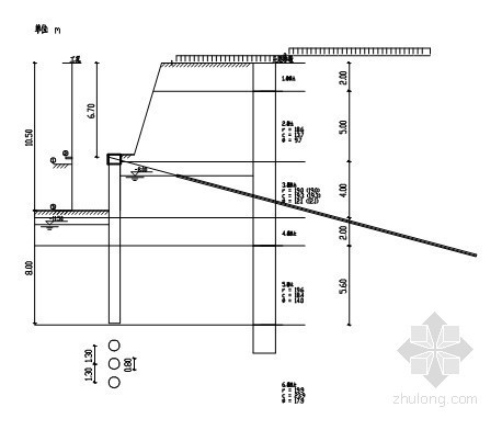 桩锚、土钉墙基坑支护井点降水方案(含计算书 112页)