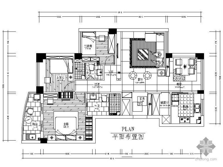 [温州]现代三室两厅装修图